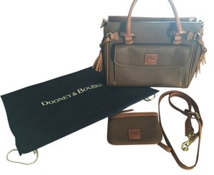 Dooney & Bourke Leather Dooney& Florentine Satchel in Brown