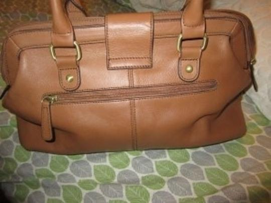 Etienne Aigner Satchel in Honey (Light Brown)