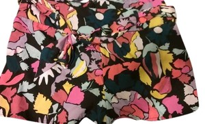 Wet Seal Short Floral Dress Shorts Multi