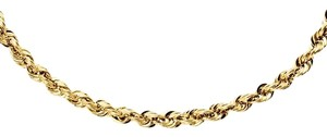 Kay Jewelers Unisex 10K Beautiful Gold Rope Necklace - Price Just Reduced!!!!