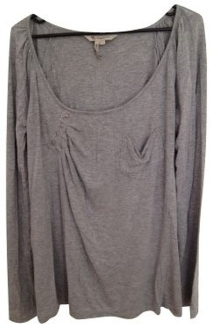 Preload https://item3.tradesy.com/images/bcbgeneration-heather-grey-blouse-size-8-m-382-0-0.jpg?width=400&height=650