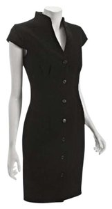 Calvin Klein Woven Sheath Classic Party Dress
