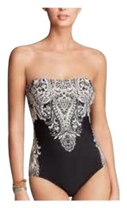Carmen Marc Valvo Embellished one piece suit