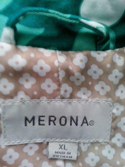 Merona Greens & white Jacket