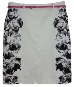 Nue Options Petite Skirt White/Black