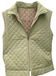 Cambridge Dry Goods Reversible Size M Green Vest