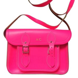 The Cambridge Satchel Company Fluoro Monogram Cross Body Bag