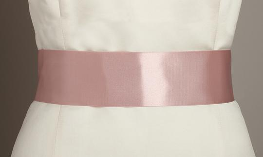 Preload https://item3.tradesy.com/images/mariell-blush-color-double-sided-french-satin-ribbon-3928sh-bls-sash-3820312-0-0.jpg?width=440&height=440