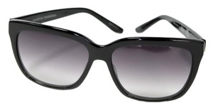 Barton Perreira Lovestruck Square Gradient Unisex Sunglasses In Black/Silver/Smoke