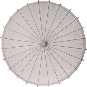 """Lot Of 25 Feather Grey 32"""" Parasols"""