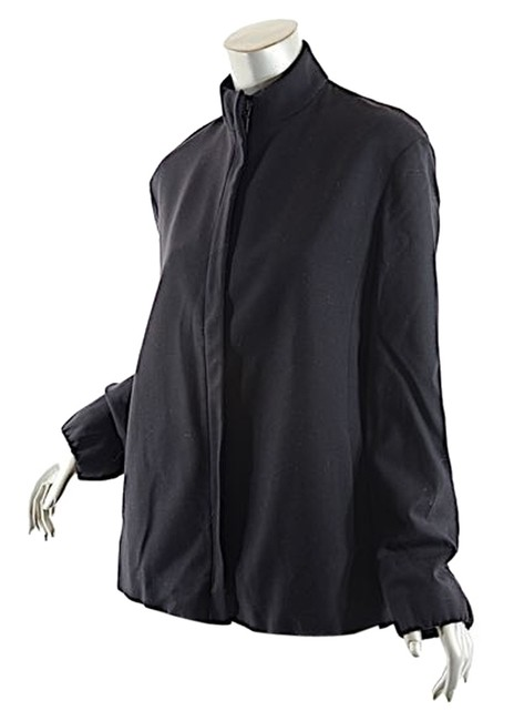 Preload https://img-static.tradesy.com/item/3820426/donna-karan-black-flannel-stretch-hidden-placket-jacket-wzip-fab-us-cardigan-size-8-m-0-0-650-650.jpg