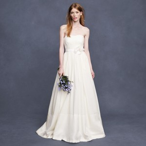 J.Crew Ivory Corliss Wedding Dress Size 6 (S)
