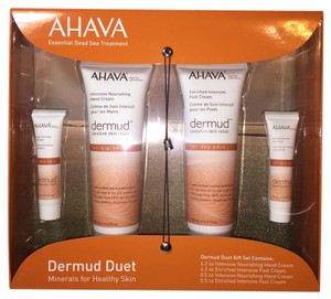 AHAVA Dermud Duet Gift Set; Minerals for Healthy Skin by AHAVA Dead Sea Laboratories [ Roxanne Anjou Closet ]