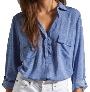 Splendid Top Heather Blue