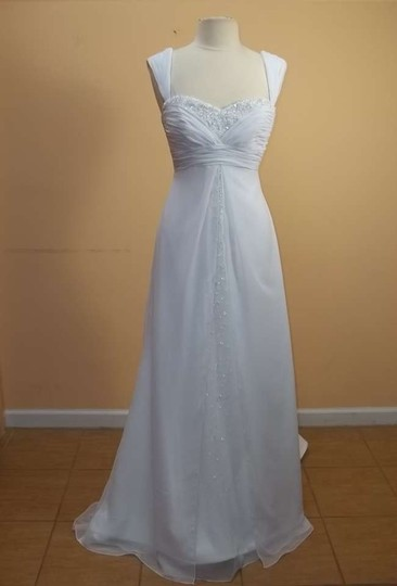 Preload https://img-static.tradesy.com/item/382108/mori-lee-whitesilver-chiffon-4511-formal-wedding-dress-size-10-m-0-0-540-540.jpg