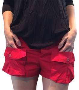 Miu Miu Mini/Short Shorts Red