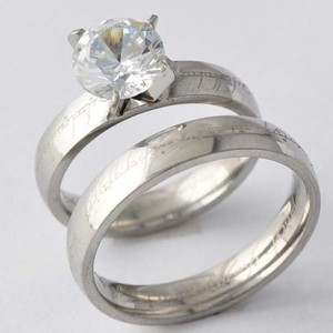 His & Hers Matching Wedding Set Free Shipping