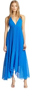 Alice + Olivia Wedding Maxi Halter V-neck Beachy Dress