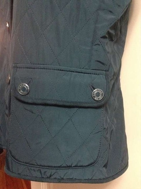 Talbots Quilted Jewel Tone Vest
