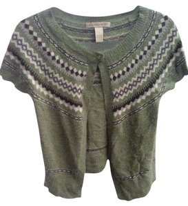 A. Giannetti Angora Wool Fair Isle Sweater