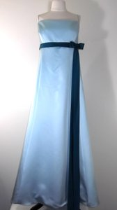 Alfred Angelo Baby Blue / Teal Style 6133 Dress