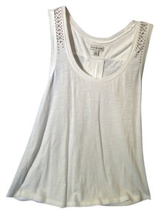 American Eagle Outfitters Top white and silver