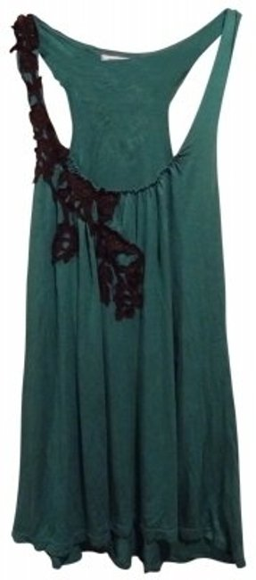 Preload https://item3.tradesy.com/images/kimchi-blue-green-with-black-lace-detail-tank-topcami-size-8-m-38227-0-0.jpg?width=400&height=650