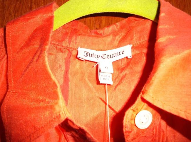 Juicy Couture Top Coral/Multicolor