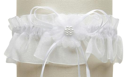 Preload https://item1.tradesy.com/images/mariell-white-organza-bridal-garters-with-baby-pearl-cluster-819g-w-w-3823720-0-0.jpg?width=440&height=440