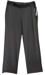 Larry Levine Straight Pants Grey