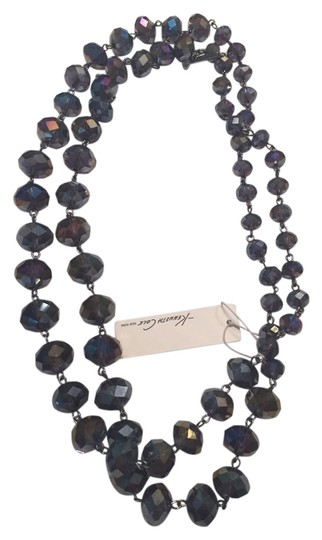 Kenneth Cole Kenneth Cole Purple Faceted Brad Long Necklace