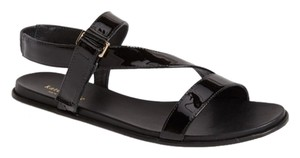 Kate Spade Black Patent Sandals