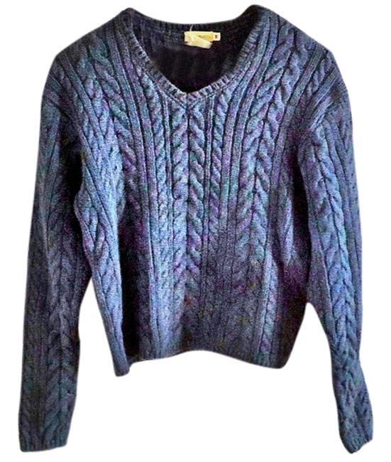 Bass Chunky Textured V-neck Sweater