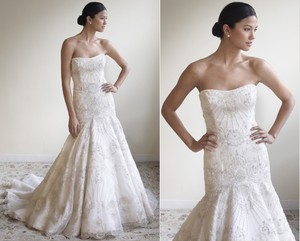 Lazaro 3766 Wedding Dress