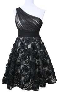 Jill Stuart Flower Lace Ribbon Tulle One Formal Short Dress