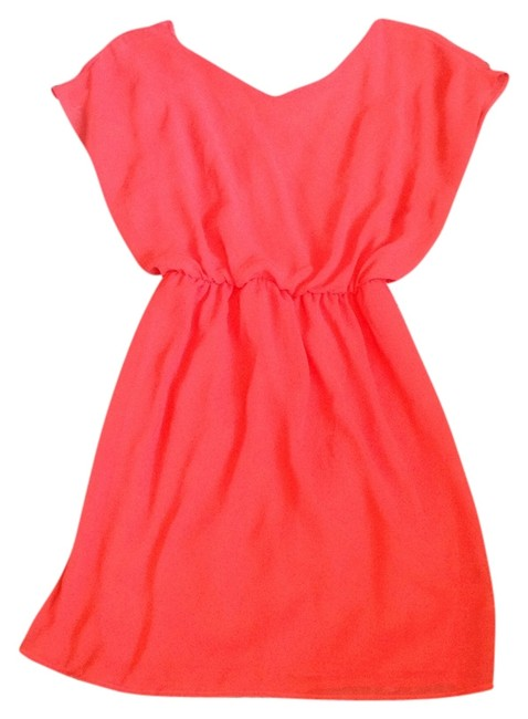 Lush short dress Hot Pink on Tradesy