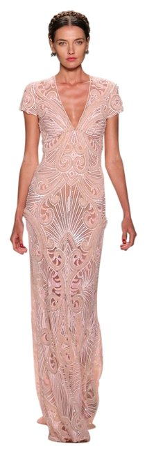 Item - Blush/Pink Spring/Summer 2014 Collection Gown (Look 42) Long Formal Dress Size 2 (XS)