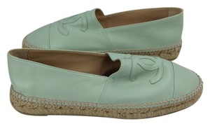 Chanel Mint Green Flats