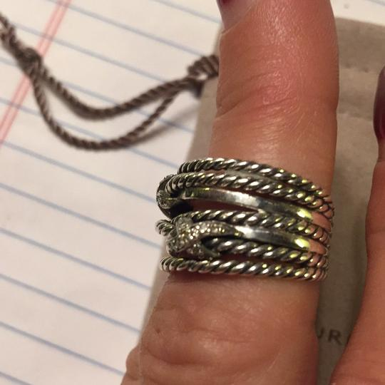David Yurman David Yurman Double X Crossover W/925 & Diamond