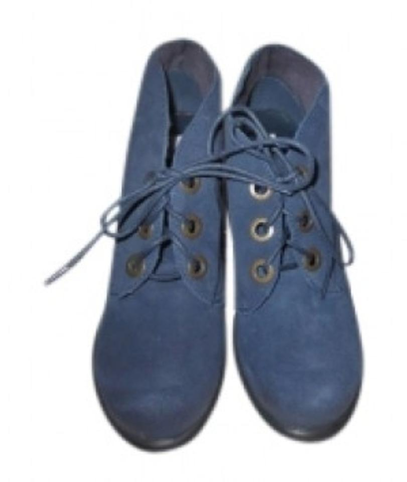 Steve Boots/Booties Madden Navy Blue Suede Boots/Booties Steve 3fa509