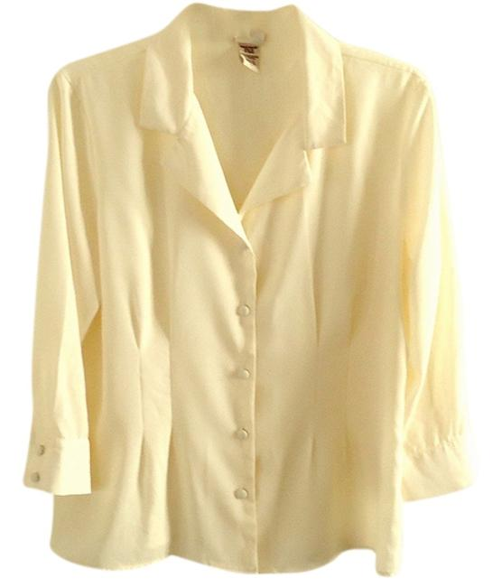 Preload https://item2.tradesy.com/images/covington-ivory-button-down-top-size-12-l-3825781-0-0.jpg?width=400&height=650