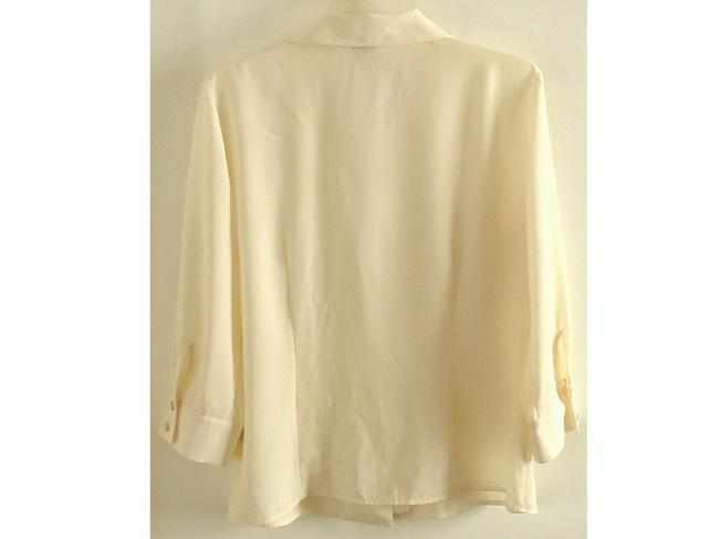 Covington Fitted Button Down Shirt ivory