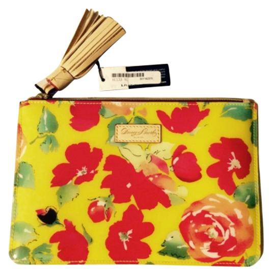 Preload https://item4.tradesy.com/images/dooney-and-bourke-yellow-floral-cosmetic-bag-3825808-0-0.jpg?width=440&height=440