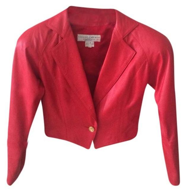 Lillie Rubin Red Jacket