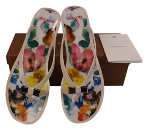 Coach multi-color Flats