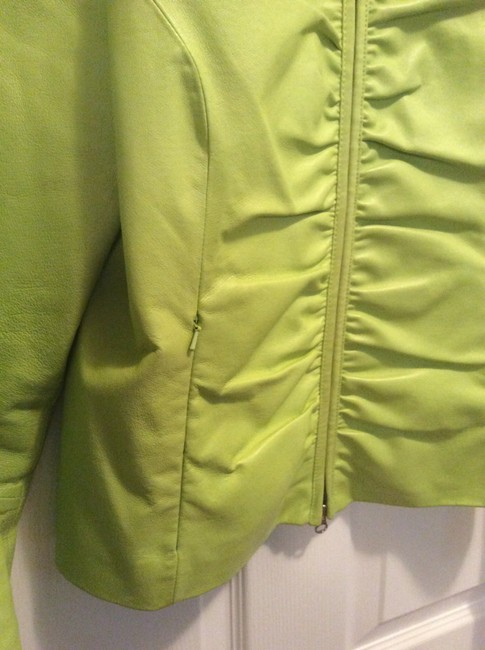 Wilsons Leather Lime Green Leather Jacket