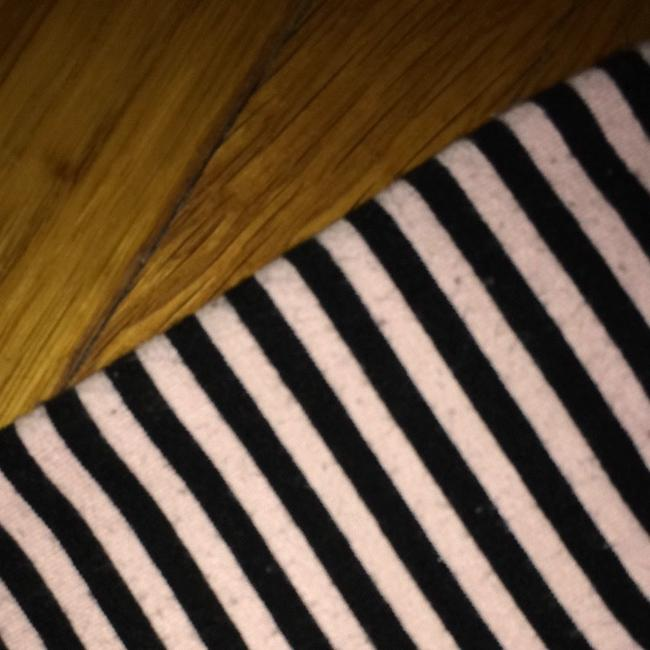 dELiA*s Top Pink And Black Stripes