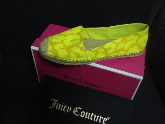 Juicy Couture Yellow Flats
