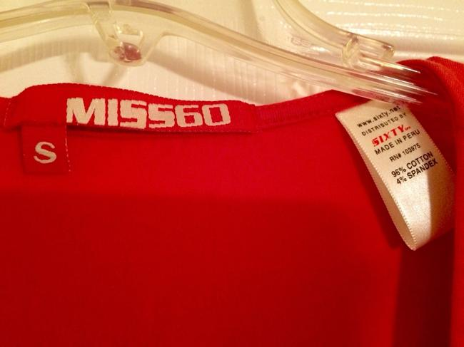 Miss Sixty T Shirt Red