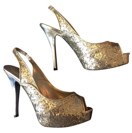 Guess Glitter Gold Formal